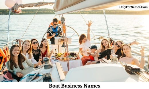 Boat Business Names