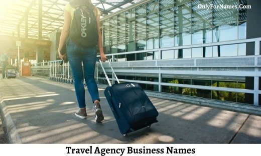 Travel Agency Business Names