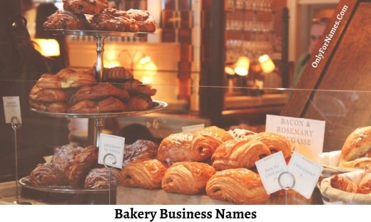 Bakery Business Names