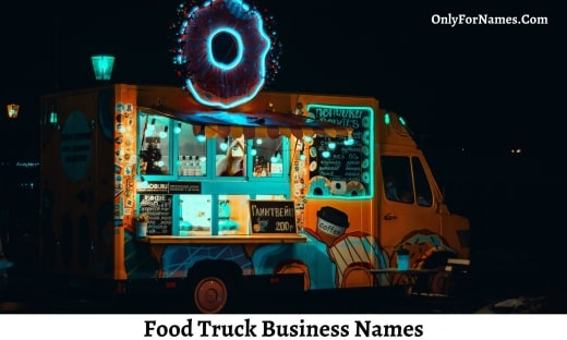 Food Truck Business Names