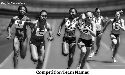 Competition Team Names