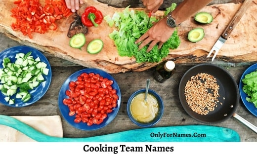 Cooking Team Names