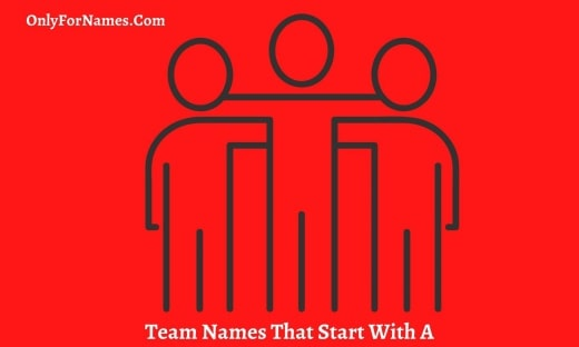 Team Names That Start With A