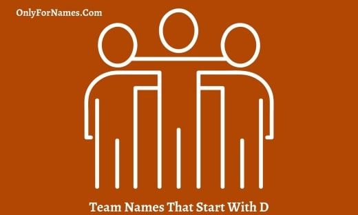 Team Names That Start With D