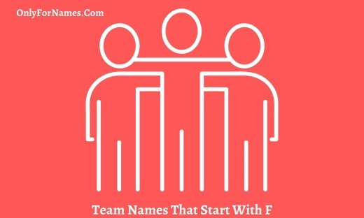 Team Names That Start With F